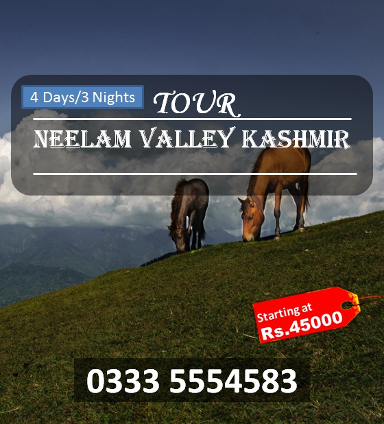 Neelam Valley 4 Days Tour Kashmir