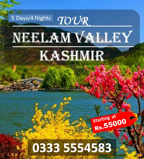 Kashmir 5 Days Tour Neelam Valley